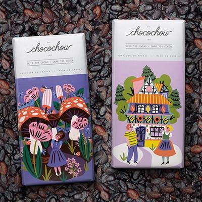 Fairytale Chocolate Packaging for Choco Chou