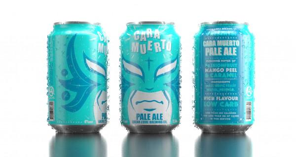 Lucha Libre Beer Packaging Is Looking Good