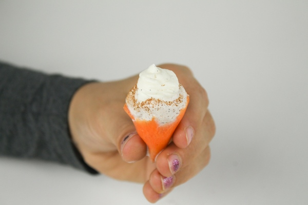 Mini Carrot Cake Ice Cream Cone - Check it out at Ateriet.com