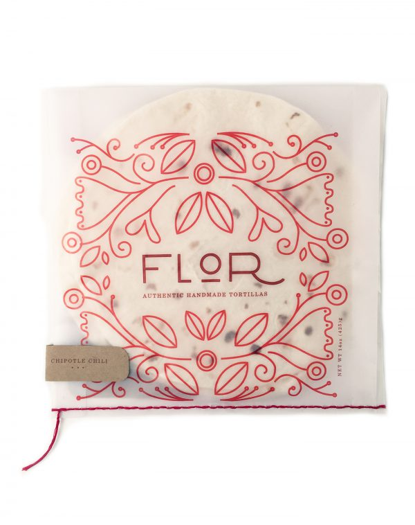 Flor Tortilla Packaging Design Takes Tortillas To The Next Level