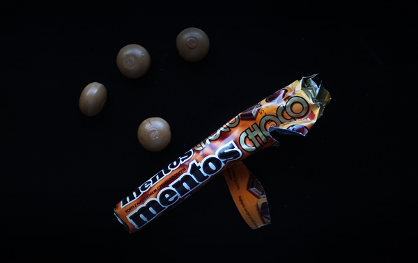 Mentos Choco Taste Test at Ateriet