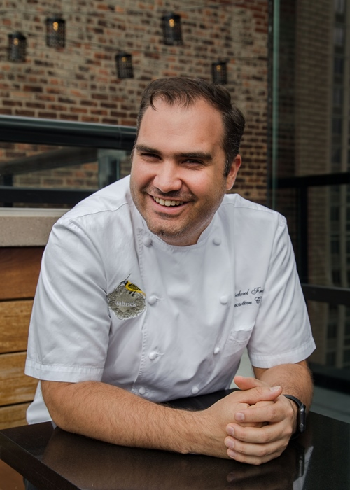 Chef Q&A with Michael Franey of David Burke Fabrick in New York at Ateriet.com