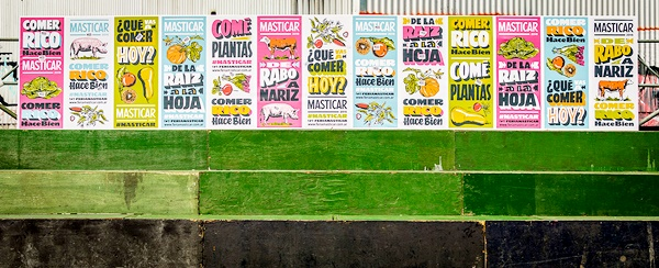 Vintage Style Food Posters Food Masticar Festival 2016