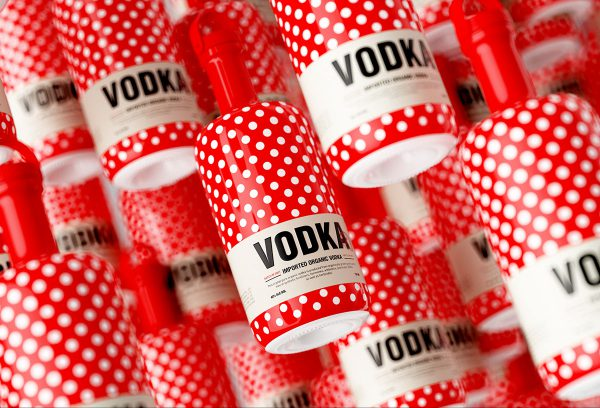 Vodka Dot Packaging Puts The Fun Into Its Vodka Packaging