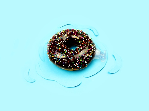Clever and Colorful Food Art Photography by Catherine Kim