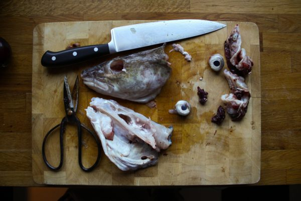 How To Cook A Cod Head - And a Recipe To Go With It