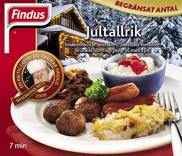 Findus Jultallrik - How Swedish Findus Created The Saddest Christmas Dinner in History