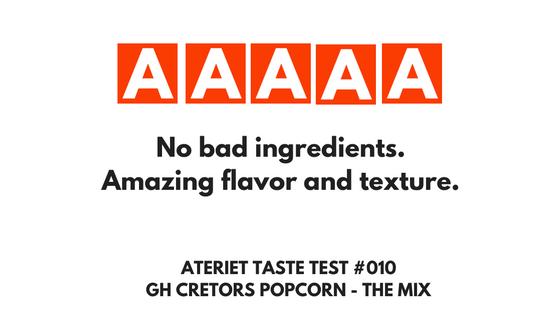 GH Cretors Popcorn Taste Test - The Mix