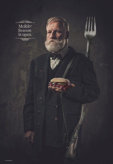 McRib Hunter Ads For The New McDonald's McRib Season