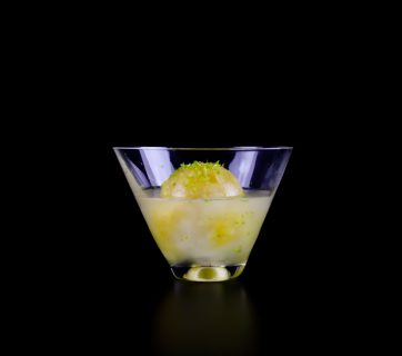 Passion Fruit Ice Drink With Vodka and Lime - A Flavor Changing Drink