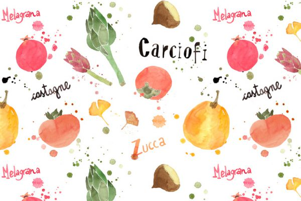 Beautiful Watercolor Food Illustrations by Giorgia Bressan