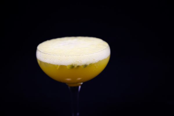 Try This Sweet Passion Fruit Champagne Cocktail