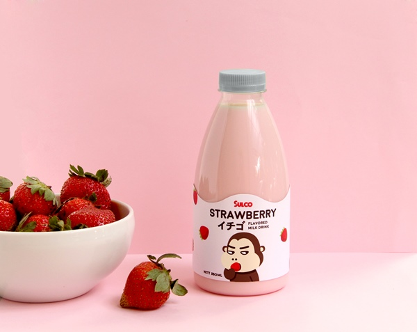 Flavored Milk Packaging Charms Us With It's Grumpy Monkey