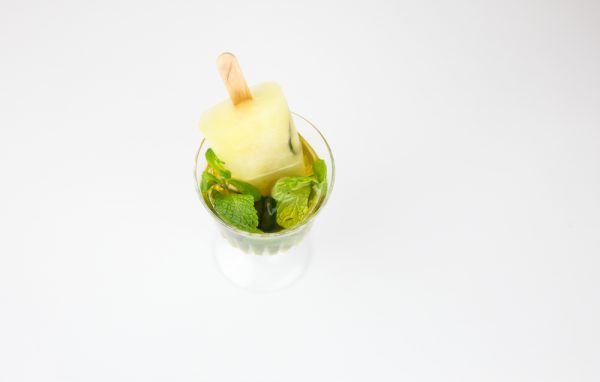 Jalapeno Mint Julep Ice Pop Cocktail