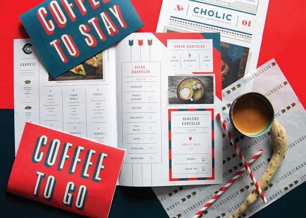 Packaging and Branding for Cholic Coffee Shop in Istanbul