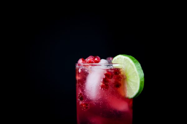 Pomegranate Gin And Tonic - The Perfect Twist On A Classic, Full recipe at Ateriet.com