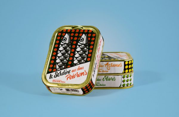 Pop Art Canned Sardines - This Student Project Should Be Real