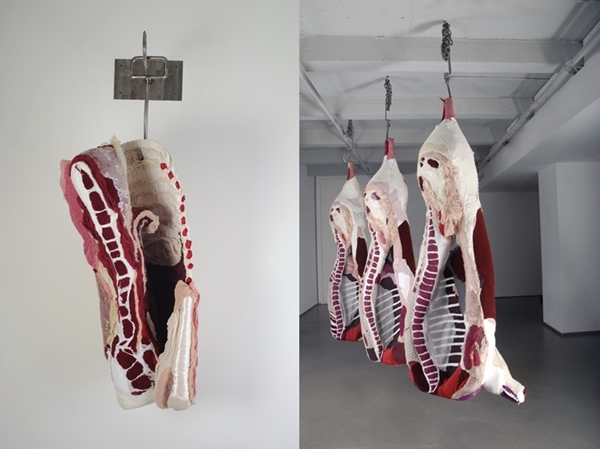 Textile Meat - Beautiful Food Art by Tamara Kostianovsky