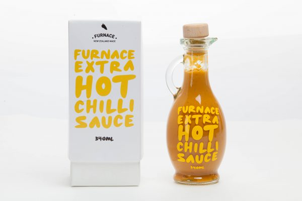 Gift Box Hot Sauce Packaging - Furnace Chilli Sauce