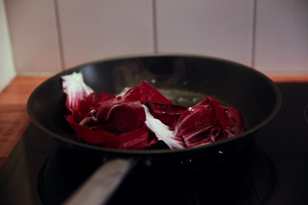 Radicchio and Blood Orange Side Salad with Fennel Vinaigrette