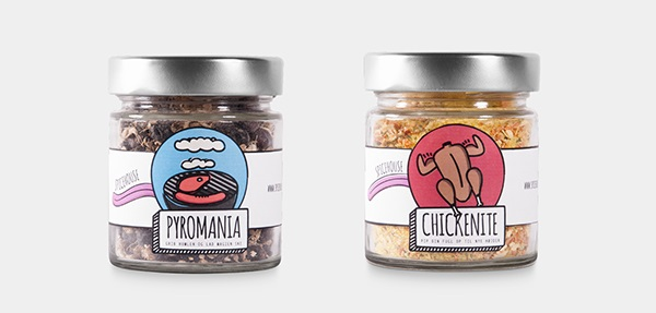 25 Spice Packaging Designs That Would Look Great In Your Kitchen