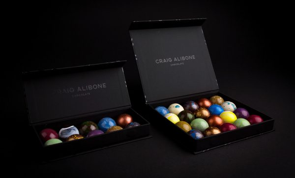 Awesome Packaging and Branding for Craig Alibone Chocolate