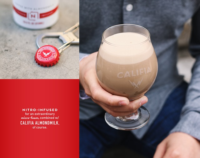 Califia Nitro Cold Brew Coffee Packaging Design Stands Out