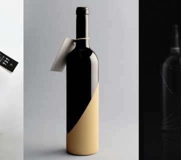 10 Minimalistic And Beautiful Wine Label Designs