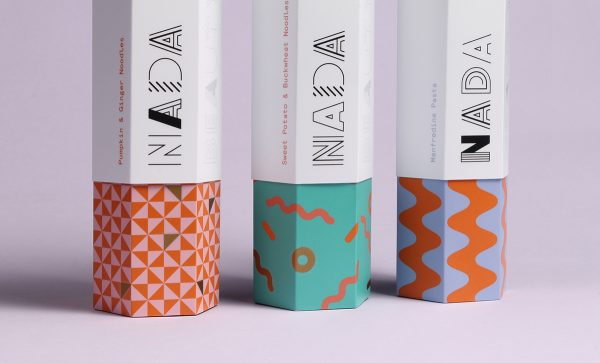 This Nada Pasta Packaging Is Hexagonal & It Looks Amazing