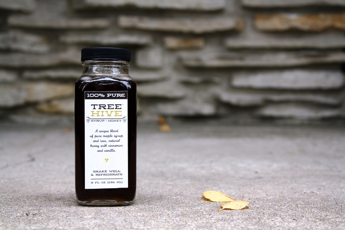 treehive syrup bottle