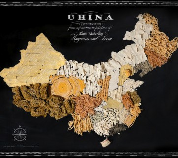 food map of china