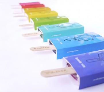 popsicle packaging for farm