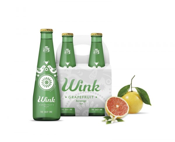 Wink – modern and sassy packaging design