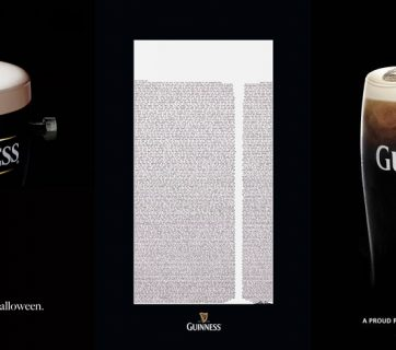 Creative Guinness Beer Ads