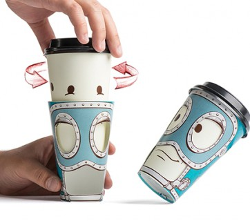 cool coffee cup for takeout