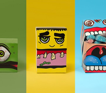 monster candy packaging