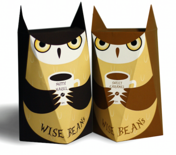 owl coffee packaging