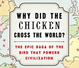 how did the chicken cross the world