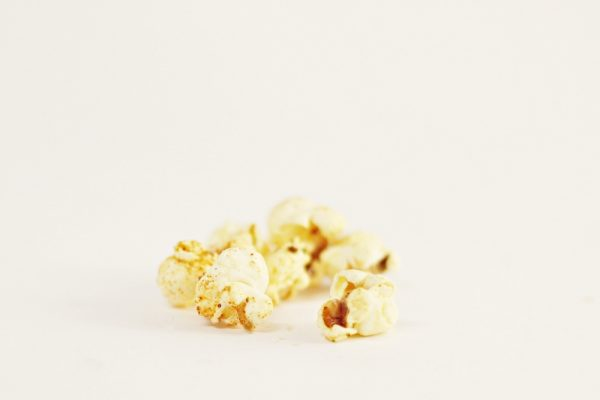 Homemade Popcorn with Chili Butter and Lime