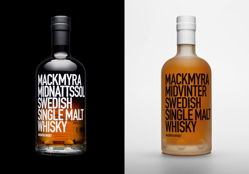 mackmyra whisky bottles
