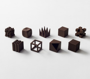 chocolate box by Nendo