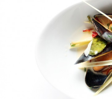mussels with lemongrass