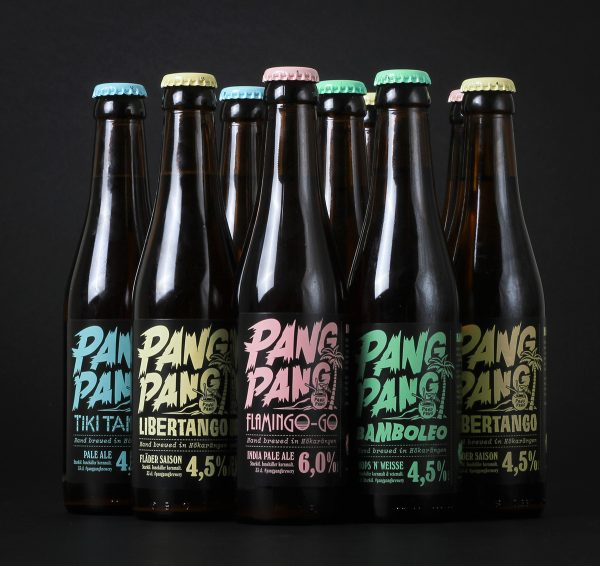PangPang Brewery Has Got Some Seriously Great Looking Beer Bottles