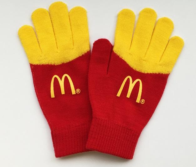 mcdonalds fry gloves