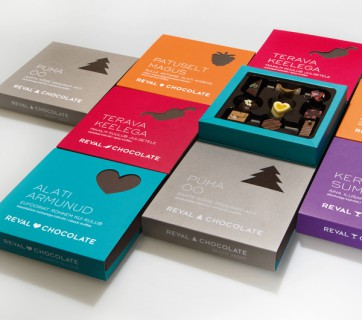 reval chocolate packaging