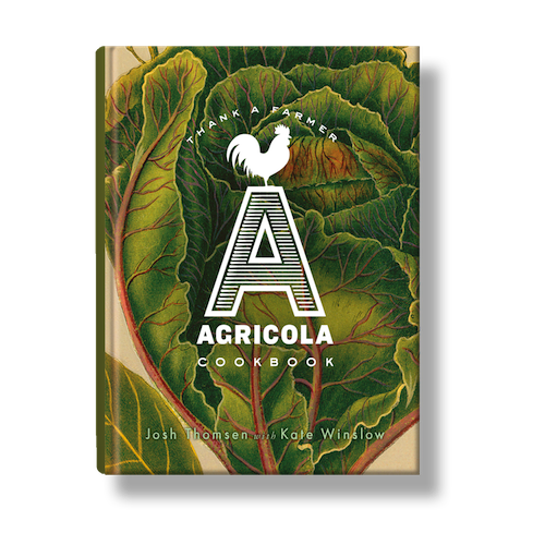 Agricola cookbook front cover