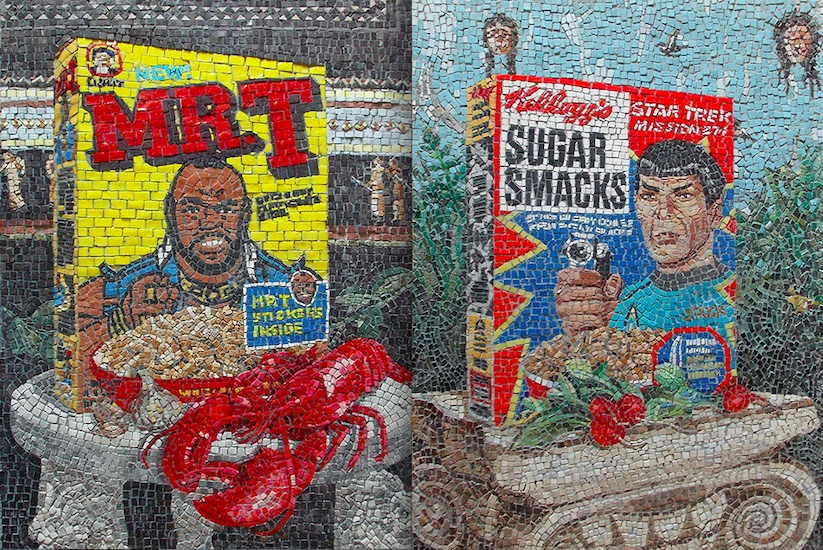 cereal mosaic