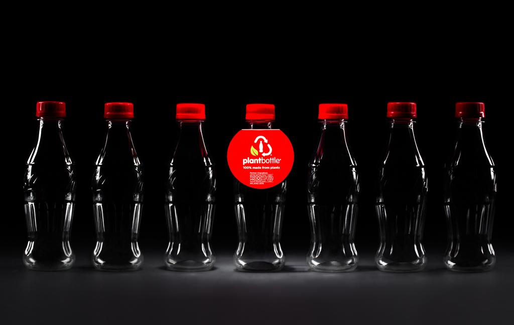 plantbottle coca-cola