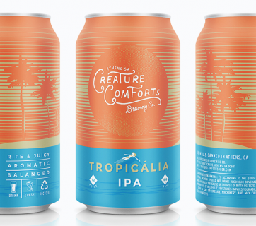 beer can packaging design