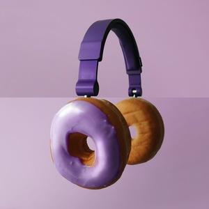 combo photos donut